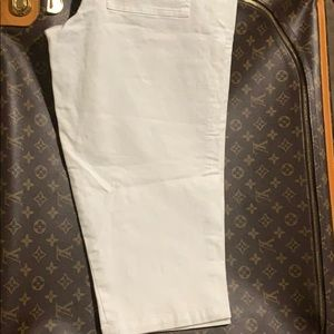 Talbots white pants like new